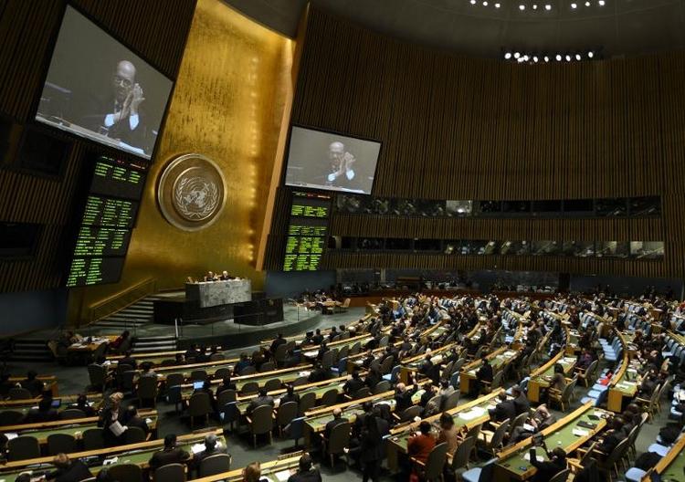 Deutschland ratifiziert globales Waffenhandelsabkommen (© 2014 AFP)