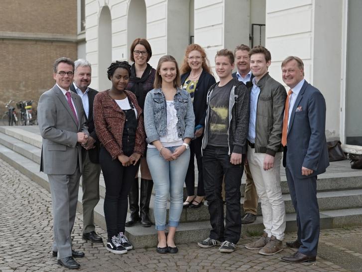 Bürgerstiftung Krefeld: Schüler berichten von ihren Auslandsaufenthalten. (Foto: Stadt Krefeld)