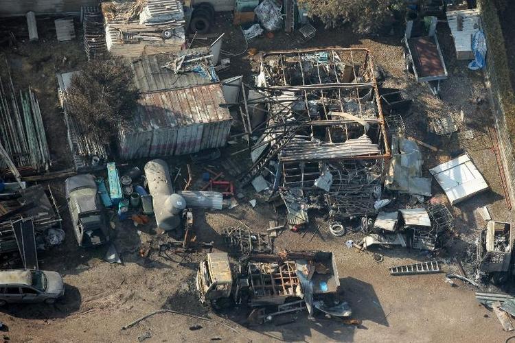 Zwei Verdächtige wegen Explosionen in Gasfirma angeklagt (© 2014 AFP)