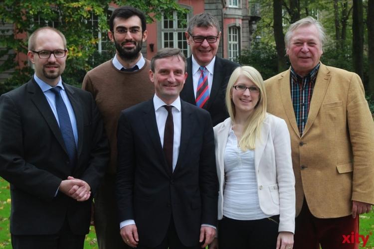 OB-Kandidat Thomas Geisel und sein Wahlteam (xity-Foto: D. Postert)