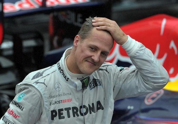 """Schumacher: """"Momente des Bewusstseins und des Erwachens"""" (© 2014 AFP)"""