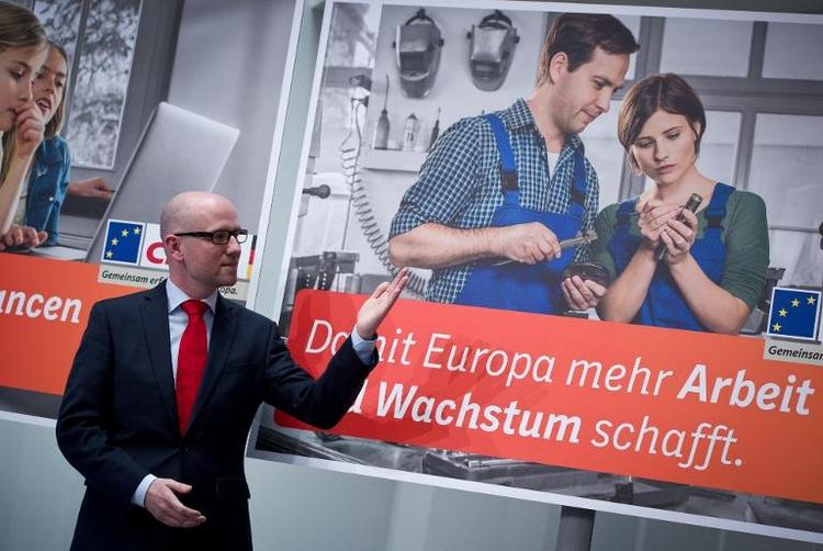 CDU will mit positivem Europabild in EU-Wahlkampf ziehen (© 2014 AFP)