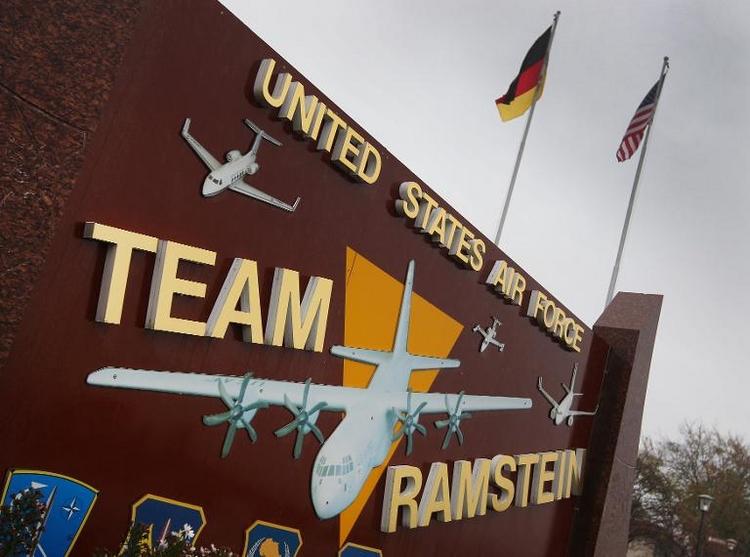 US-Drohneneinsätze: Berlin will Klarheit zu Ramstein (© 2014 AFP)