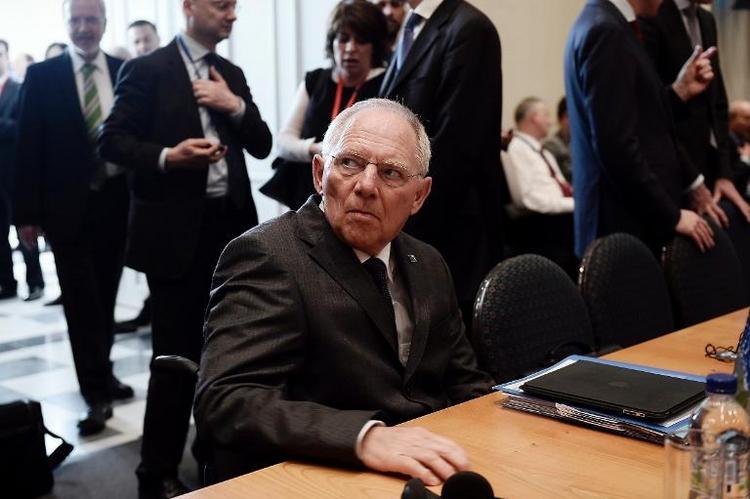 """Schäuble findet Hitler-Vergleiche """"blöd"""" (© 2014 AFP)"""