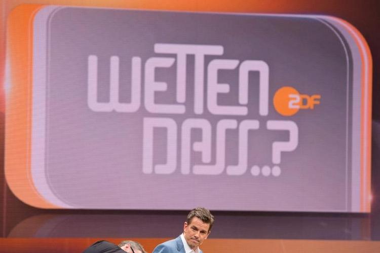 """ZDF besiegelt Ende von """"Wetten, dass..?"""" (© 2014 AFP)"""