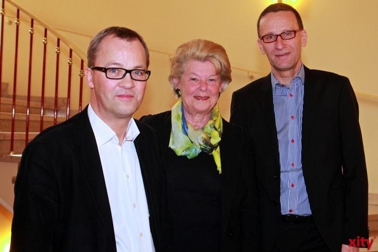 Christoph Meyer, Generalintendant der Oper am Rhein, Isabella Gabor und Holger Bleck, Direktoren des Gesangswettbewerbs (xity-Foto: D. Postert)