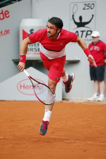 Janko Tipsarevic feiert nach mehrmonatiger Verletzungspause sein Comeback bei den Düsseldorf Open (Foto: Rochus Turnier GmbH)