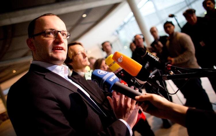 CDU-Politiker Spahn sieht Koalition auf falschem Kurs (© 2014 AFP)