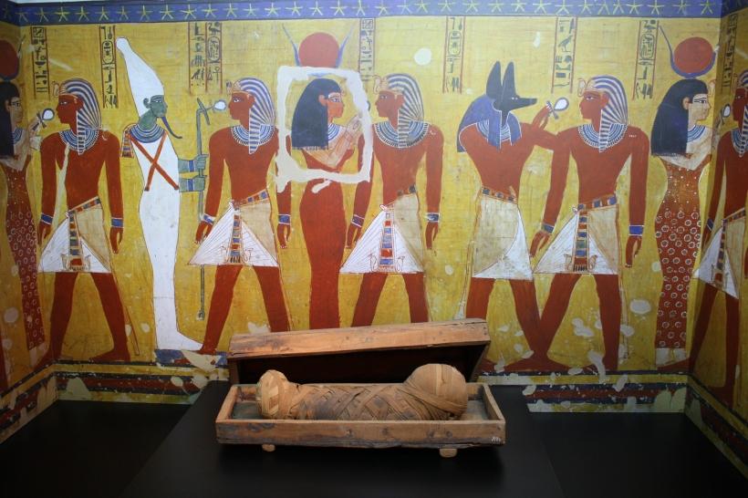 """Sonderausstellung """"Mumien - Reise in die Unsterblichkeit"""" (Foto: Neanderthal Museum)"""
