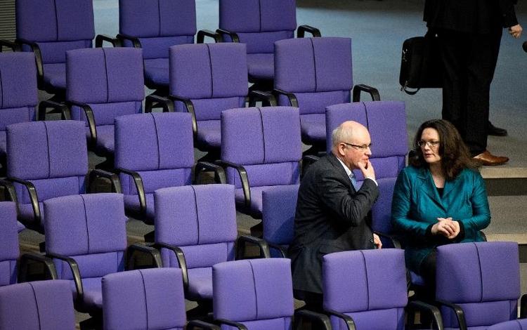 Unionsspitze will internen Streit um Rente beilegen (© 2014 AFP)