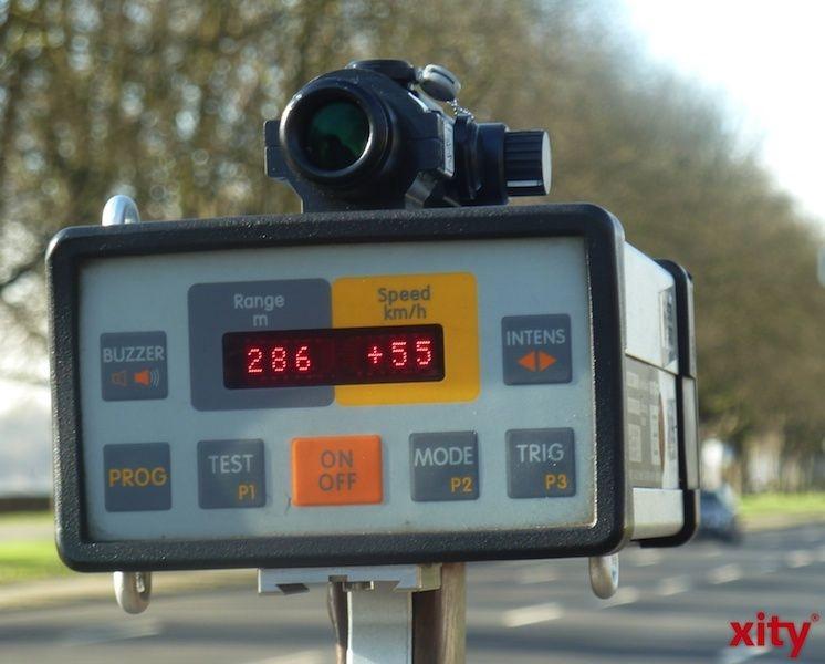 Erste Bilanz der Düsseldorfer Polizei zum 24-Stunden-Blitzmarathon (xity-Foto: P.I.)