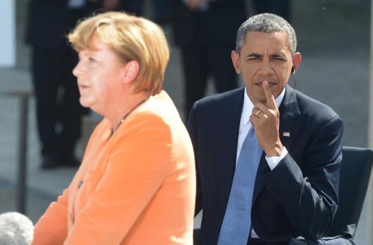 Bericht: Kein Einblick für Merkel in ihre NSA-Akte (© 2014 AFP)
