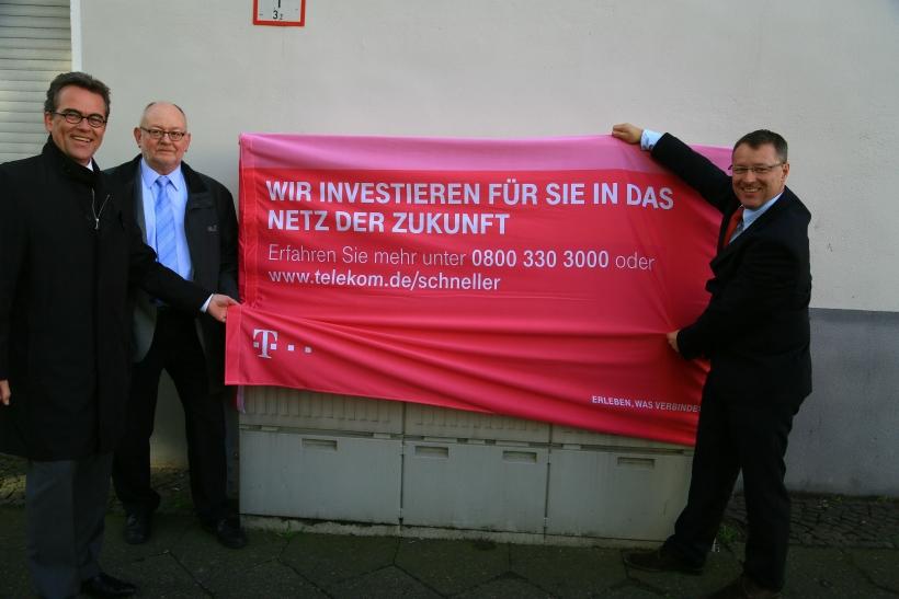 Die Deutsche Telekom hat mit dem weiteren Ausbau ihres Breitbandnetzes in Krefeld begonnen. (Foto: Stadt Krefeld)