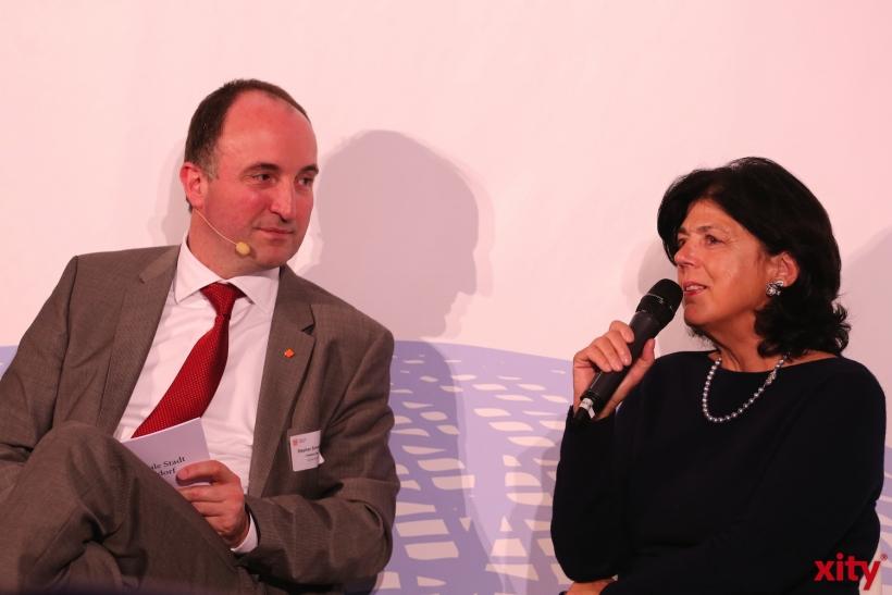 Stephan Schneider und Jutta Zülow (v.l.)(xity-Foto: D. Creutz)