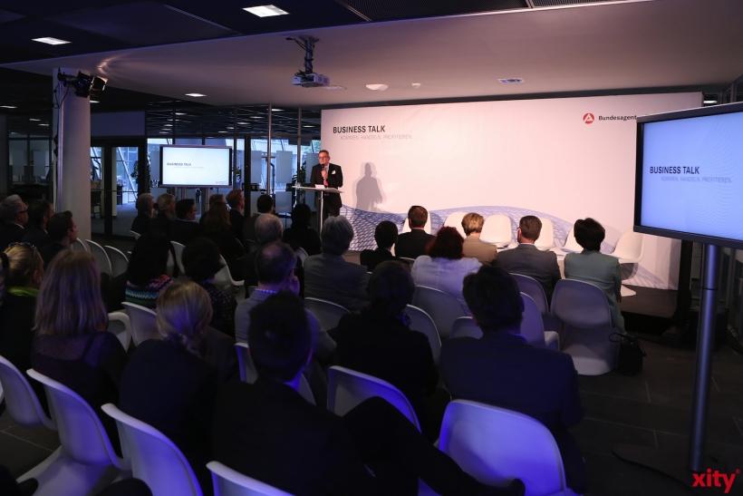 Der Business Talk war mit ca. 70 Teilnehmern gut besucht (xity-Foto: D. Creutz)