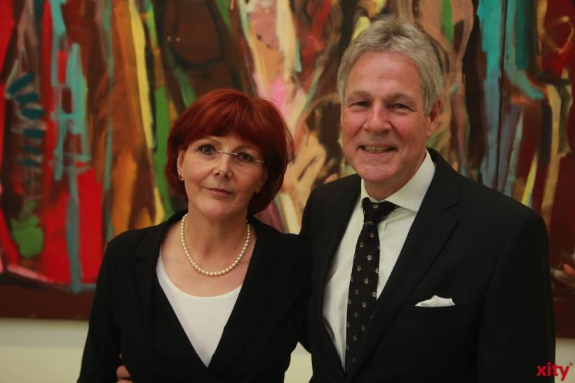Angela Glatz-Büscher, Präsidentin des Amtsgerichts Düsseldorf und ihr Vorgänger, Ingolf Dick (xity-Foto: P. Basarir)