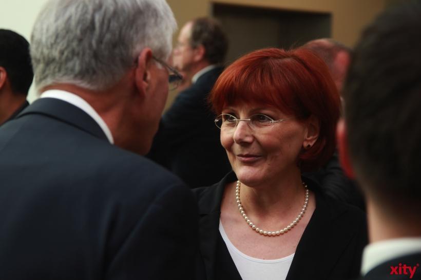 Angela Glatz-Büscher arbeitet seit mittlerweile acht Wochen als neue Präsidentin des Amtsgerichts und wurde am Montag offiziell begrüßt (xity-Foto: P. Basarir)