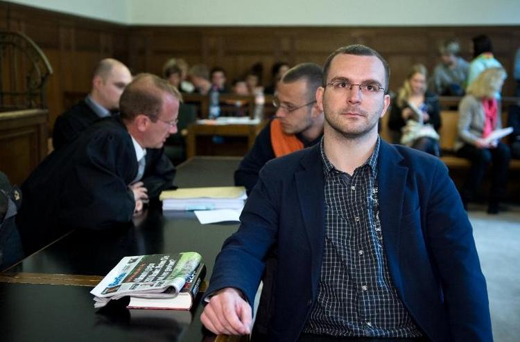 Berliner NPD-Chef wegen Volksverhetzung vor Gericht (© 2014 AFP)