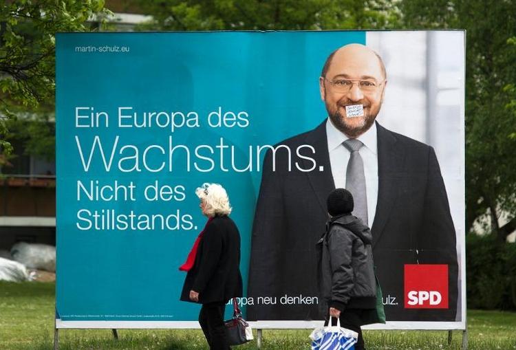 41 Prozent für Schulz als EU-Kommissionspräsident  (© 2014 AFP)