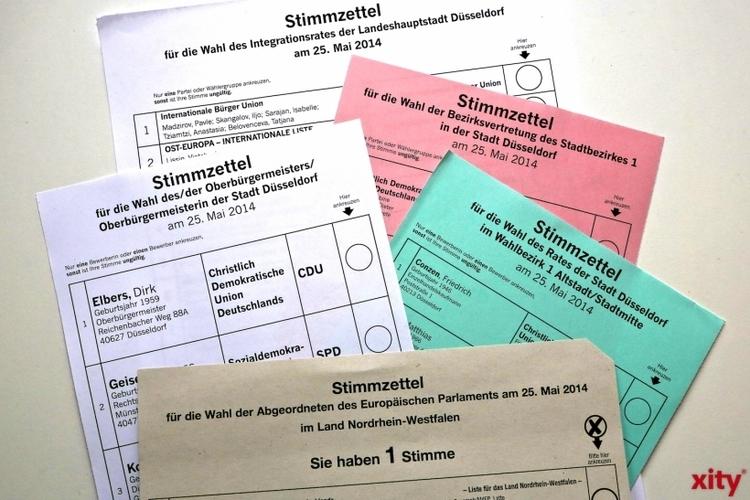 Sechs Fragen und Antworten zur Europawahl am 25. Mai 2014. (xity-Foto: D. Creutz)