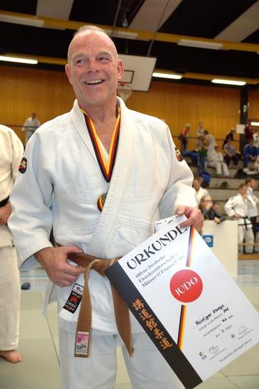 DM Bronze im Judo für Rüdiger Vaegs vom SC Bayer 05. (Foto: Sportclub Bayer 05 Uerdingen)