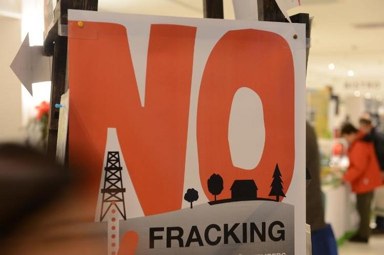 Deutsche Umweltminister stellen sich gegen Fracking (© 2014 AFP)