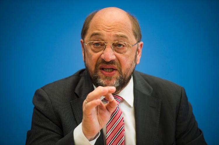 Schulz nennt CDU-Europawahlkampf Wählerverdummung (© 2014 AFP)