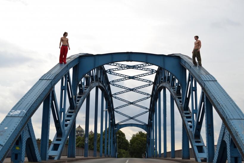 Parkour im Sportpark Duisburg garantiert spektakuläre Action, Akrobatik und Körperbeherrschung. (Foto: Stadt Duisburg)