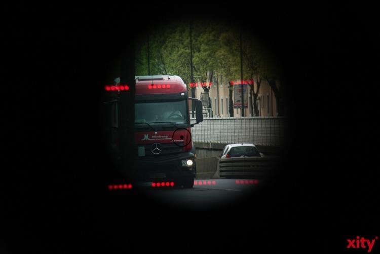Geschwindigkeitskontrollen in Krefeld. (xity-Foto: E. Aslanidou)