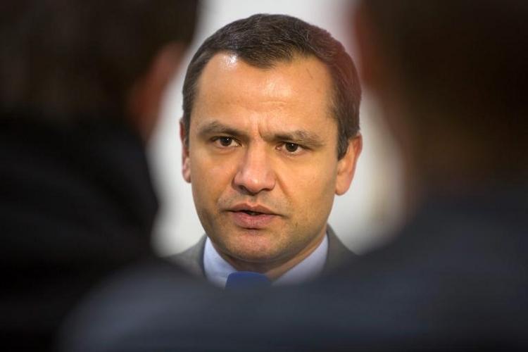 Edathy wirft Bundestag Weitergabe von IT-Daten vor (© 2014 AFP)