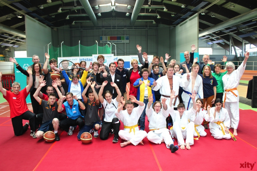 """Gruppenbild Special Olympics 2014"" (xity-Foto: H.Müller)"