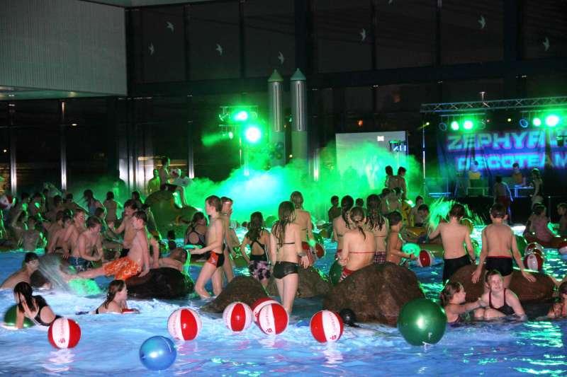 Sportabzeichenehrung im Badezentrum Bockum. (Foto: Zephyrus)