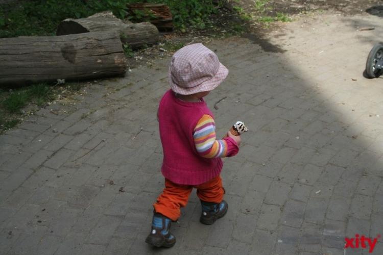 Für die Betreuung der über Dreijährigen stehen in Krefeld, 5732 Plätze zuzüglich 54 Plätze in Sonderkindergärten zur Verfügung. (xity-Foto: M. Völker)