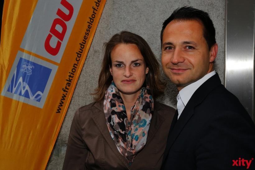 Pavle Madzirov mit seiner Frau (xity-Foto: D. Creutz)