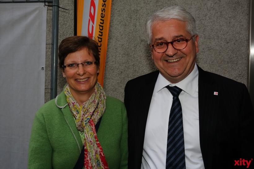 Ratsherr Giuseppe Saita mit seiner Frau (xoty-Foto: D. Creutz)