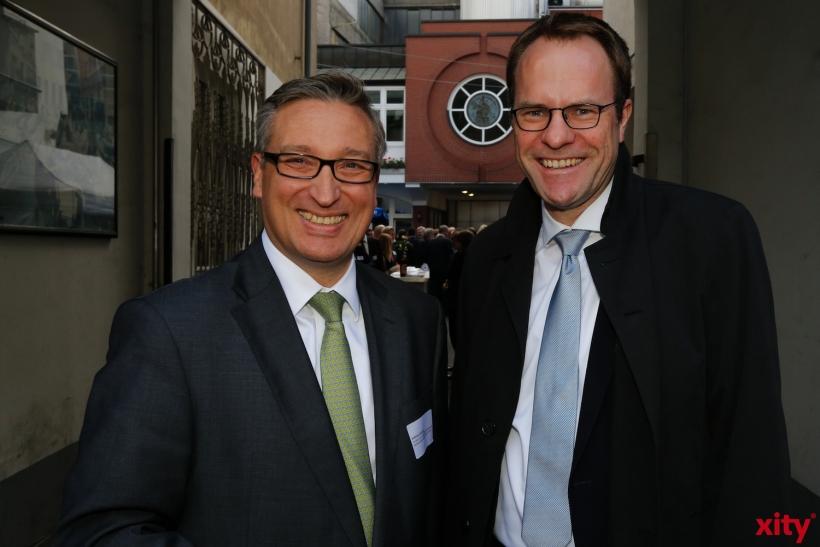 (v.l.) Andreas Hartnigk und Dr. Stephan Keller (xity-Foto: D. Creutz)