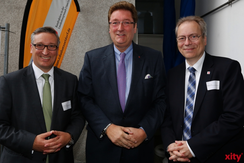 (v.l.) Andreas Hartnigk, Dirk Elbers, Rüdiger Gutt (xity-Foto: D. Creutz)
