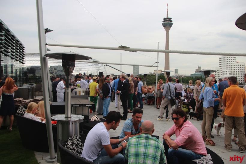 Das Hyatt in Düsseldorf veranstaltet jeden Dienstag die Afterwork-Lounge (xity-Foto: P. Basarir)