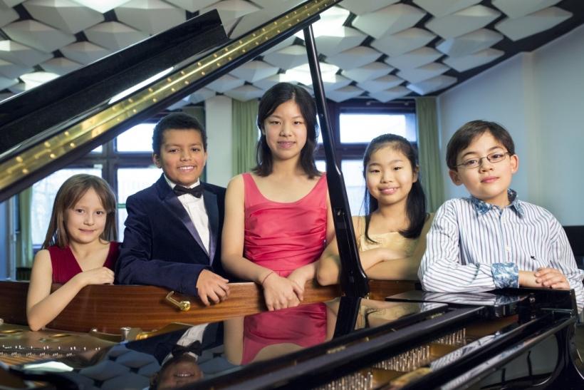Schumann Junior treten beim Schumannfest 2014 auf (Foto: Susanne Diesner)
