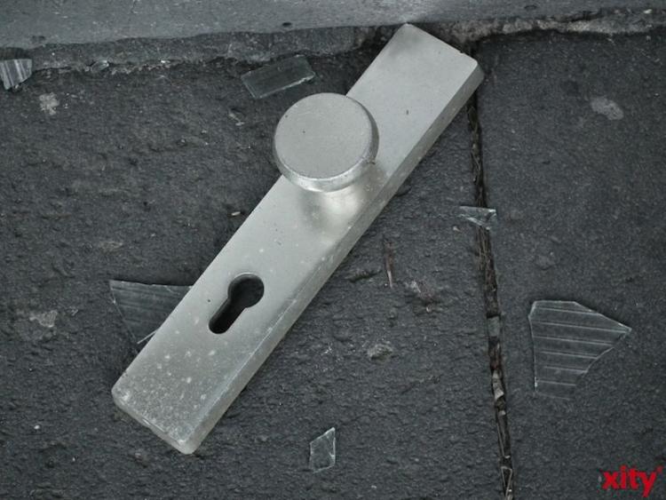 Einbrecher wollten über Garagen in Haus eindringen. (xity-Foto: P. I. )
