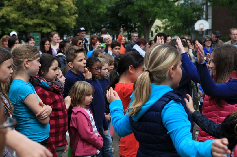 Unesco-Fest für Kinder in Krefeld. (Foto: Stadt Krefeld)