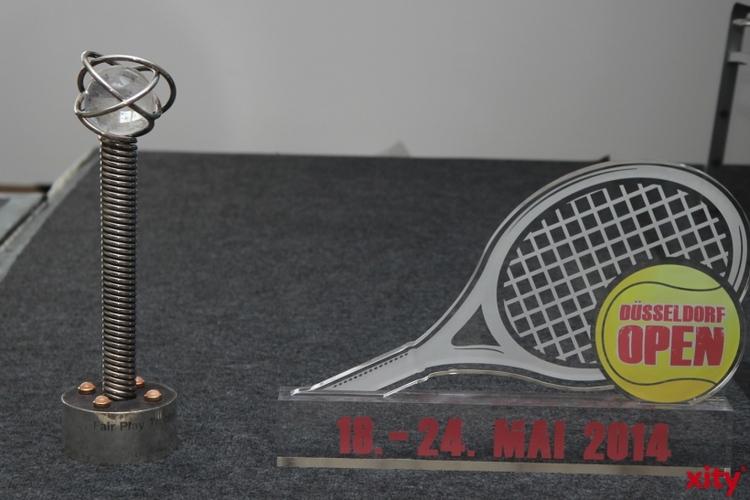 Philipp Kohlschreiber und Ivo Karlovic kämpfen um die Krone der Düsseldorf Open 2014 (xity-Foto: P. Basarir)