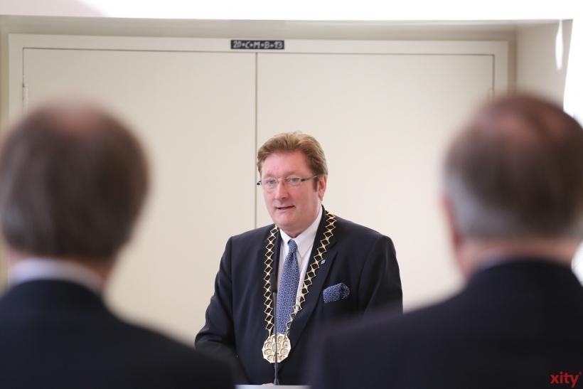Oberbürgermeister Dirk Elbers muss in die Stichwahl (xity-Foto: D. Creutz)