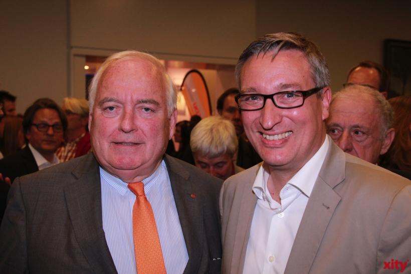 Friedrich G. Conzen, Bürgermeister der Stadt Düsseldorf und Andreas Hartnigk, Ratsherr der CDU (xity-Foto: P. Basarir)
