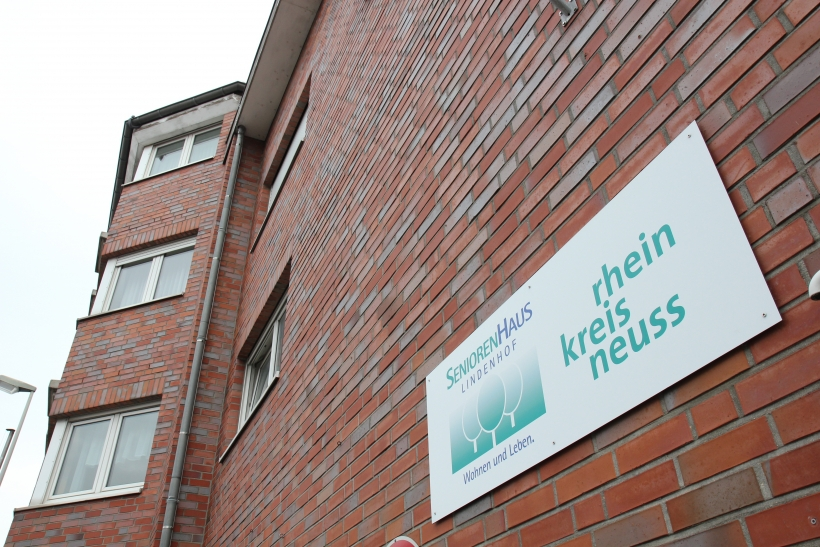 Im Seniorenhaus Lindenhof, das der Rhein-Kreis Neuss in Grevenbroich betreibt, wird eine Kunstausstellung eröffnet. (Foto: Rhein-Kreis Neuss)