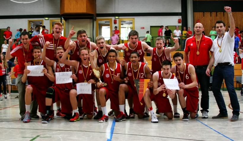 U18 Pokal: Bayern schlägt ALBA. (Foto: John F. Bruhnke)