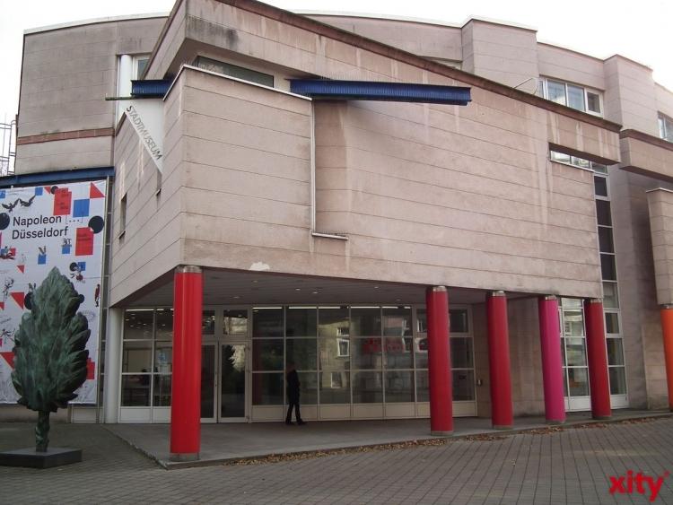 Programm des Stadtmuseum Düsseldorf in den kommenden Tagen (xity-Foto: T. Hermann)