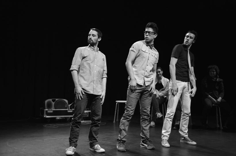"""""""HeartBeat"""" heißt die Produktion von """"Nova Tanz/Carmen Casagrande"""" aus Köln. (Fotos von Georgy Belyakov)"""