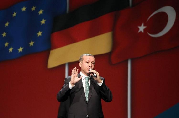 Auswärtiges Amt bestellt türkischen Botschafter ein (© 2014 AFP)