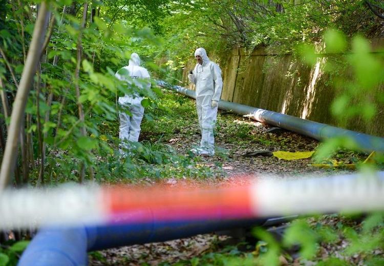 Zwei Leichen in Koffern in Stuttgart gefunden (© 2014 AFP)